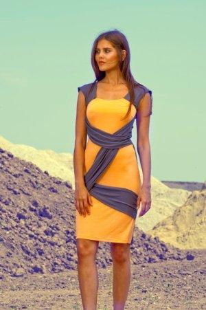 COLEEN Jerseykleid von LOUISA OKONYE, Größe 40 *SALE*