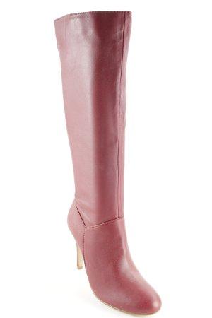 Colin Stuart High Heel Stiefel dunkelrot-creme Elegant