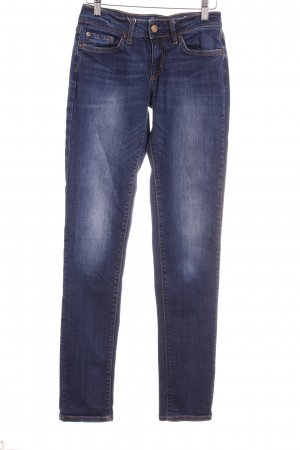 Colins Tube jeans goud-donkerblauw casual uitstraling