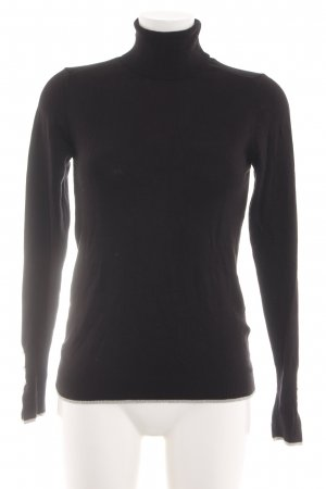 Colins Turtleneck Sweater black business style