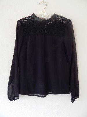 Colle ,schwarze Bluse von Vero Moda