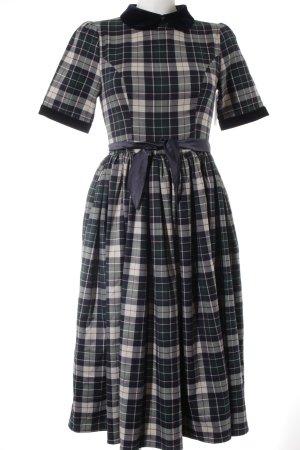 Collectif Petticoatkleid Karomuster Vintage-Look