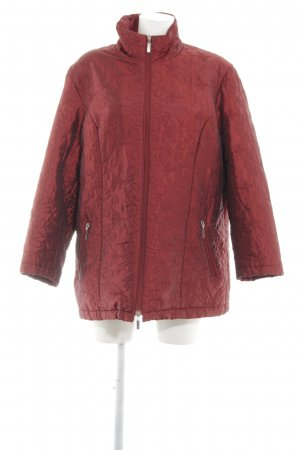 Collection Chalice Oversized Jacke rot Steppmuster Casual-Look
