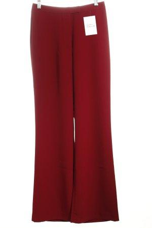 Collection High-Waist Hose dunkelrot klassischer Stil