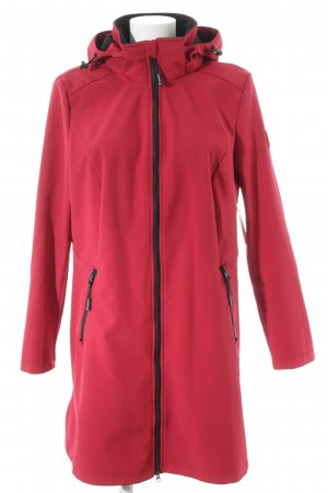 Collection L Softshell Jacket raspberry-red casual look