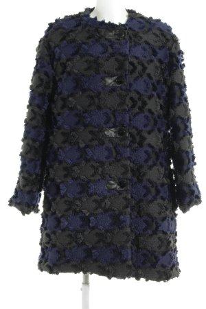 Collection Privée? Short Coat black-dark violet business style