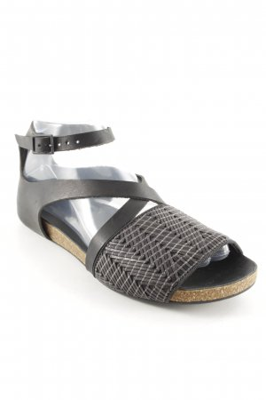 Collection Privée? Riemchen-Sandalen dunkelgrau Casual-Look