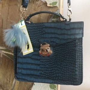 College Bag petrol-cornflower blue