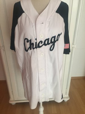 College Jacke Baseball Kleid Chicago Oversize