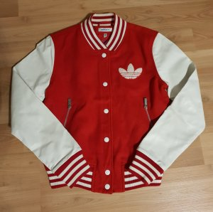 Adidas College Jacket white-red