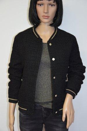 College Jacket black-ocher mixture fibre
