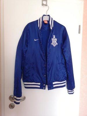 Nike Chaqueta estilo universitario azul