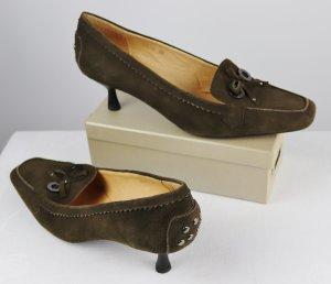 Barisal Zapatos formales sin cordones multicolor Cuero