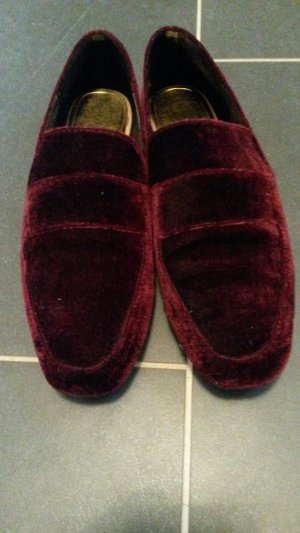 Zara Trafaluc Slippers bordeaux