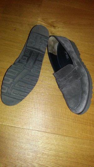 Paul Green Zapatos formales sin cordones gris oscuro