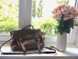 Tote light brown-gold-colored