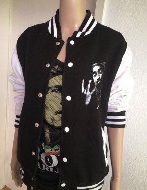 College Jacket black-white
