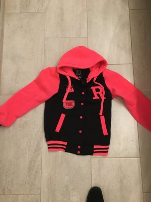 College Jacket neon red