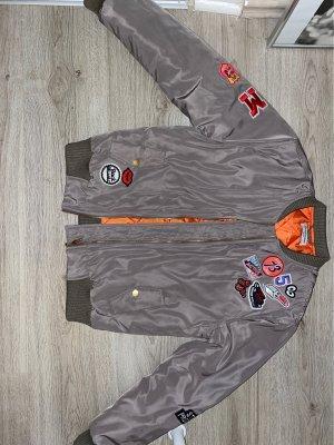 Glamorous College Jacket grey brown polyester