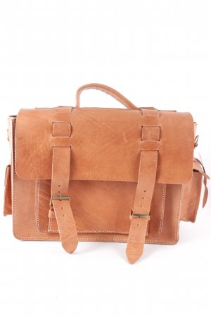 College Bag brown-gold-colored college style