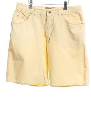 Collezione Pantaloncino di jeans giallo pallido stile casual