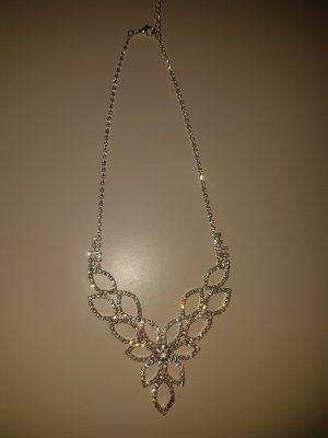 Collier Necklace silver-colored