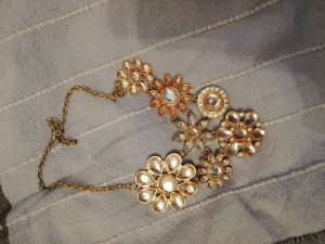 Collier Necklace gold-colored-rose-gold-coloured