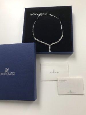 Swarovski Collar estilo collier color plata