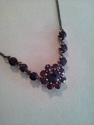 Silver Chain bordeaux-blackberry-red