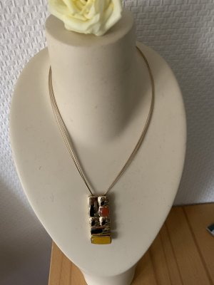 Collier in Gold mit tollem Motiv