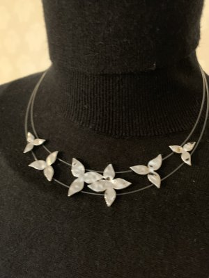 Collier *IVY*in Silber (Rhodium)