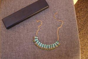 Collana oro-verde