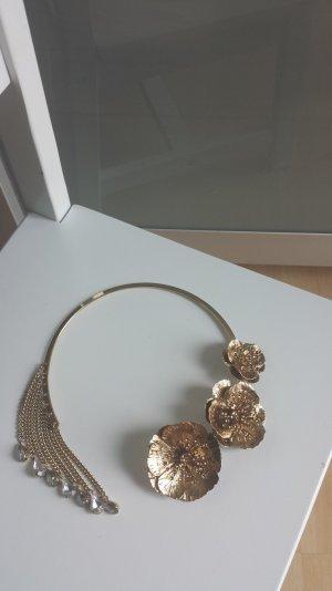Collier mit Blumen/Neu
