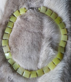 Collier giallo lime