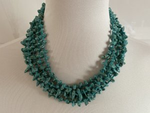 Collier Necklace light blue-turquoise
