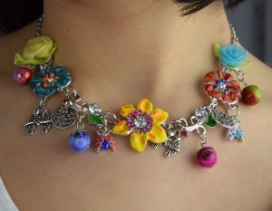 Collier Modeschmuck Blogger Halskette