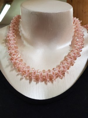 Collier Necklace pink-light pink