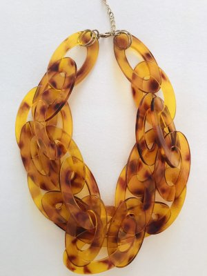 H&M Collier Necklace light orange-brown