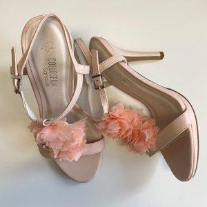 Colloseum Hoge hakken sandalen veelkleurig Imitatie leer