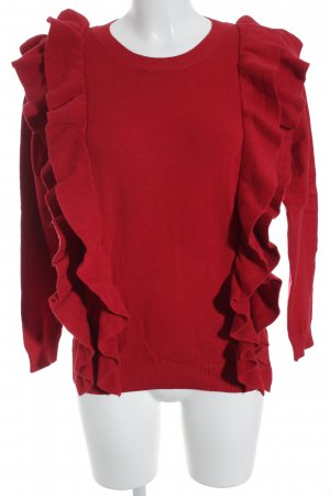 Colloseum Strickpullover rot Casual-Look