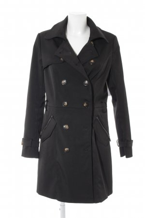Colloseum Trench Coat black casual look