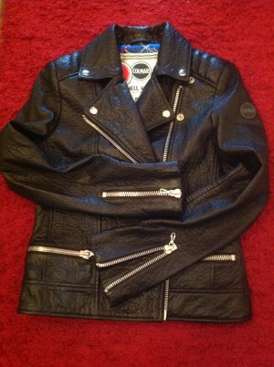 Colmar Biker Jacket black leather