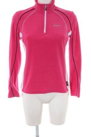 Colmar Fleece Jumper pink athletic style