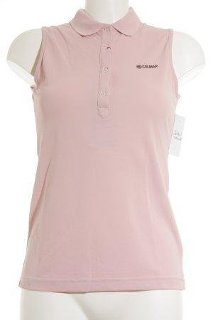 Colmar Top Polo rosa-nero stile casual