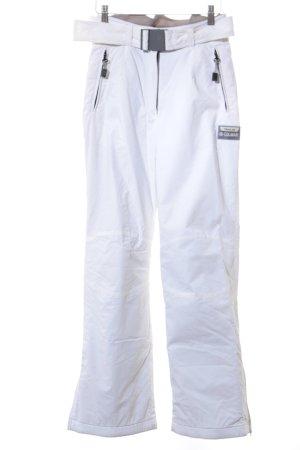 Colmar Pantalon de ski blanc style athlétique