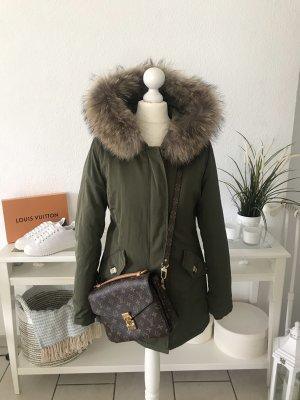 Winterjas beige-khaki