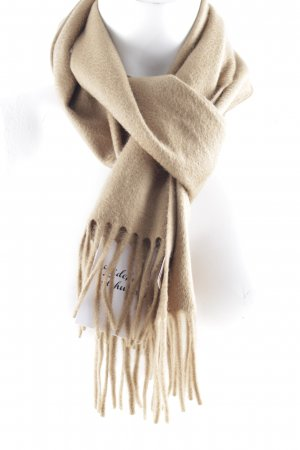 Colombo Wollschal camel klassischer Stil