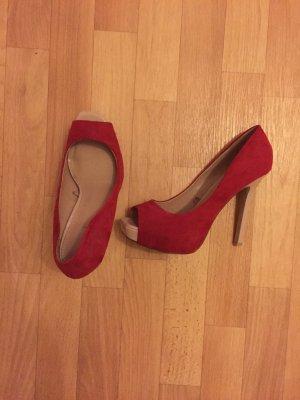 color block high heels *Zara*