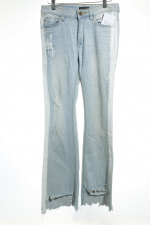 Colorado Denim 7/8 Jeans hellblau Destroy-Optik