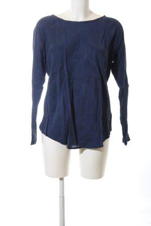 Colorado Langarm-Bluse blau Casual-Look